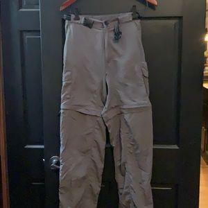 Magellan gray 2:1 pants shorts medium +
